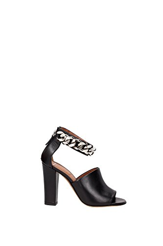 BE08686004001 Givenchy Sandale Femme Cuir Noir Noir 4DjIGs5hq2