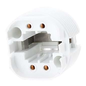 TYG24 Base sostenedor de bulbo del zócalo de lámpara