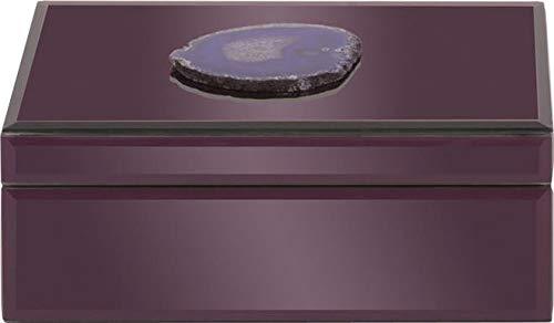 Amethyst Box - Howard Elliott 99157 Amethyst Purple Geode Jewelry Box