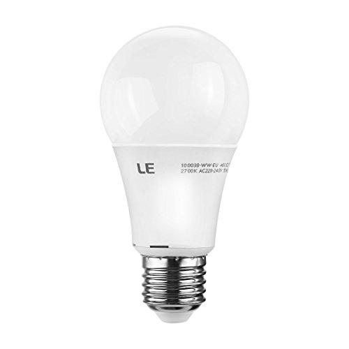 LE 9,5 Watt Dimmbare A60 E27 LED-Lampe, ersetzt 60 Watt Glühlampe ...