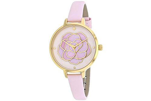 Kate Spade New York KSW1257 Metro Atlas Pink Leather Strap Women's Watch