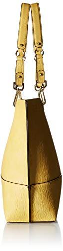 Calvin Klein Reversible Novelty Key Item N/s Tote, Light Yellow by Calvin Klein (Image #3)