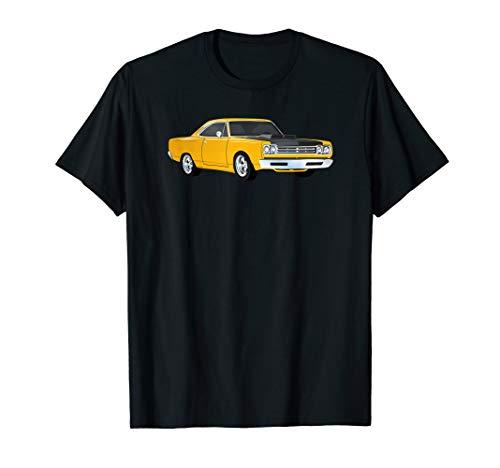 Yellow 1970's American Muscle Car T-Shirt