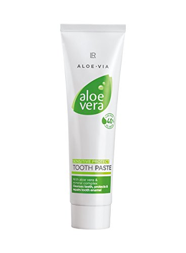 Aloe Vera Tooth Gel - Sensitive Toothpaste by LR of Germany - 100 Ml - Active dental cleaning, Protection of tooth enamel specially formulated for sensitive ()