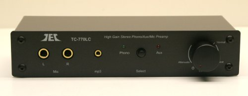 Technolink TC-770LC High Gain Phono/Mic/Aux Preamp