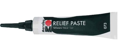 Marabu 081 20 ml Relief Paste Paint, Amethyst Marabu GmbH & Co. KG MR130707081 SC-MS-130707081