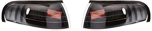Clear Lights Mustang Corner - Spec-D Tuning 2LC-MST95JM-RS Ford Mustang Gt/Base Corner Lights Black
