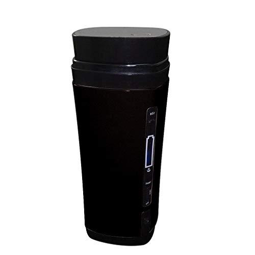 Karooch Portable Mini Coffee Maker Travel Coffee Automatic Mixing Cup USB charging Heating Mug