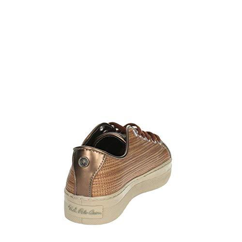 Viola donna s U in bronzo polo sneakers Assn da qxtwYw6O