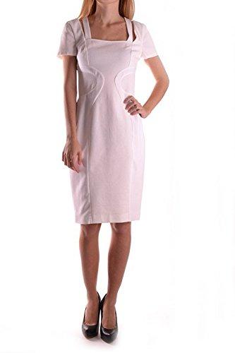 Versace Mujer Mcbi307003o Blanco Algodon Vestido