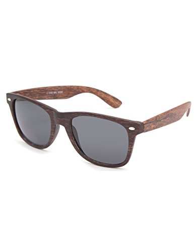 BLUE CROWN Bali Wood Sunglasses, - Tilly Sunglasses
