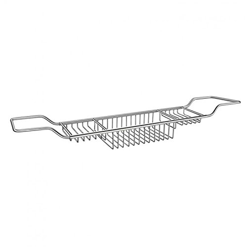 Smedbo DK1070 Sideline Adjustable Bath Rack Chrome - Smedbo Dish Soap