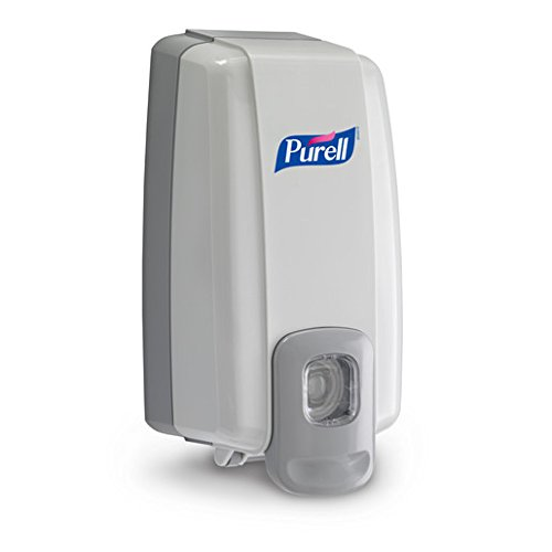 Purell NXT Space Saver Hand Hygiene Dispenser Dove Gray Plastic Push Bar 1000 mL Wall Mount 1 ea (Pack of 2) ()