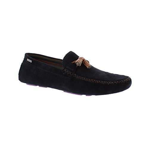 Ted Baker Mens Dark Blue Urbonn Suede Shoes-UK - Baker Ted Stockist