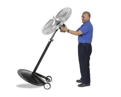 Pedestal Wheel Kit - Streamline Industrial PEDESTAL FAN Commercial - Oscillating - 30