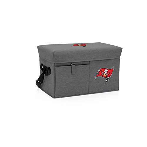 - NFL Tampa Bay Buccaneers Ottoman Insulated Collapsible Cooler/Picnic Tote