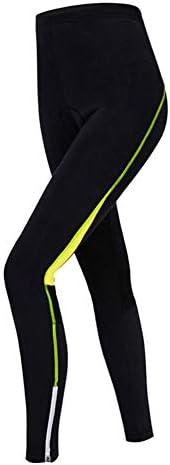 XGC Pantalon de cyclisme pour femme avec rembourrage en /éponge 4D