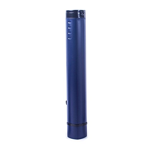 Fench Square Painting Tube Adjustable Portable Drawing Poster Tube (Deep blue) by Fench