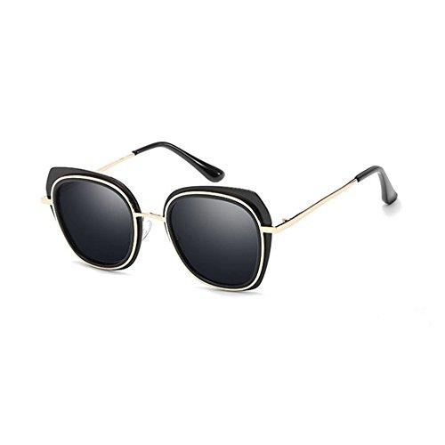 color gafas Hombre Aoligei sol B de sol tendencia polarizado brillante estrellas gafas oscuras de grandes gafas y RYOwqgOB