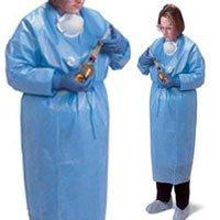 Covidien CT5502 Chemo Plus Closed Back Gown Medium 30/Ca