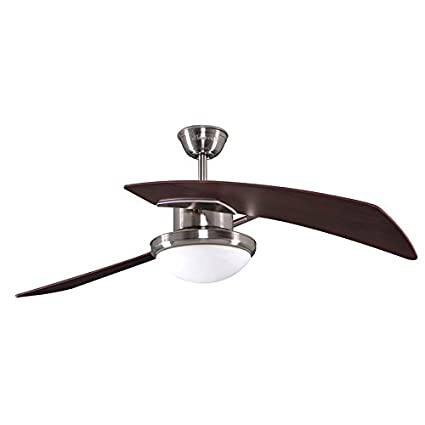 Harbor breeze platinum santa ana 48 in brushed nickel downrod mount harbor breeze platinum santa ana 48 in brushed nickel downrod mount ceiling fan with light aloadofball Images
