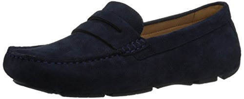 Naturalizer Women's Natasha Driving Style Loafer, Navy, 8 M -