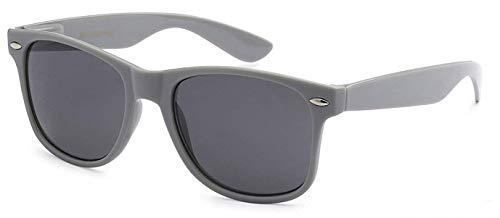Sunglasses Classic 80's Vintage Style Design (Gray) ... ()