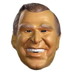 [George W Bush Pesidential Halloween Costume Mask Disguise 10406] (Jack Torrance Costume)