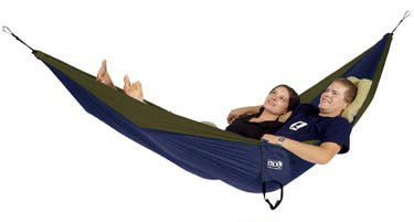 Outfitters Double Nest Hammock (OneLink w/Dbl Nest Hmmck -Nvy/Olv)