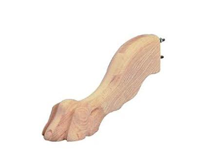 Clawfoot pedestal table leg oak furniture legs amazon clawfoot pedestal table leg oak watchthetrailerfo