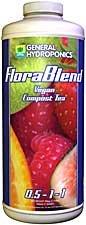 General Hydroponics Flora Blend-Vegan Compost Tea, 6-Gallon