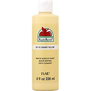 Apple Barrel Acrylic Paint in Assorted Colors (8 oz), K20711 Canary Yellow