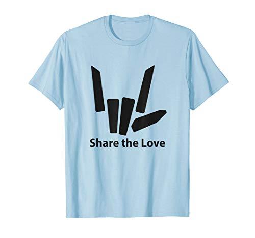 Share the Love Emblem Color Option T-shirt for kids boys