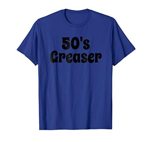 50's Greaser Car Show Tshirt 1950's Sock Hop Dance Shirt]()