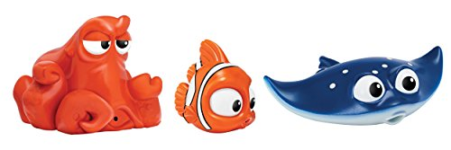 Finding Dory Nemo, Hank & Mr. Ray Bath Squirters (3 Pack)