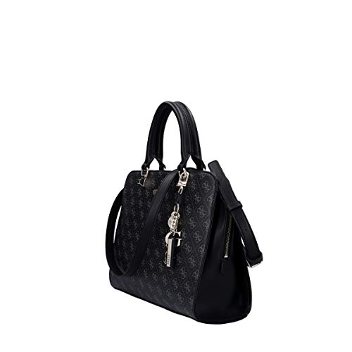 Borsa Guess a mano/tracolla Camy girlfriend satchel large coal/multi donna B21GU21