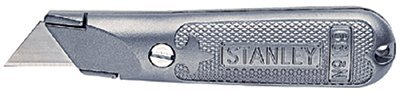 Classic Utility Fixed Blade - Stanley - Classic 199 Fixed Blade Utility Knives Heavy Duty Utility Knife - Sold as 1 Each