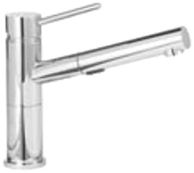 Blanco 441493 1.8-Gpm Alta Compact Pull-Out Dual Spray, Chrome by Blanco