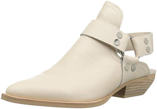 Dolce Vita Women's Urban Ankle Boot, Ivory Leather, 8 M US