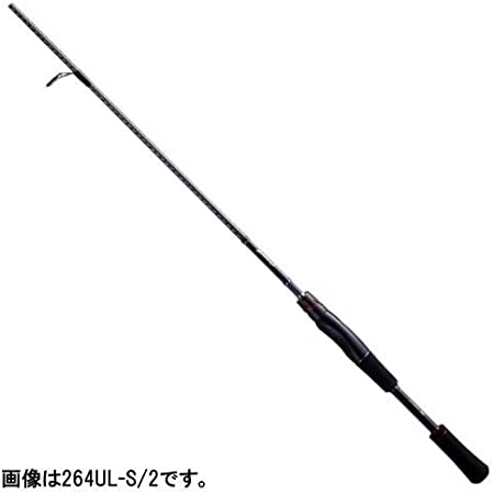 New Shimano ZODIAS Ultra Light Bass Fishing 264UL-S//2 Spinning Rod Japan Import