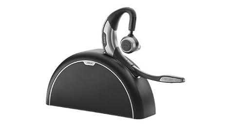 Jabra Motion - Auricular con micrófono, Bluetooth, con Kit de Viaje y Carga, optimizado para comunicaciones unificadas