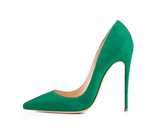 Mariage Banquet De Chaussures Velvet Vacances Dames Hauts Shiney Talons Unique Vert Aiguilles Femmes Des wAzxqpx