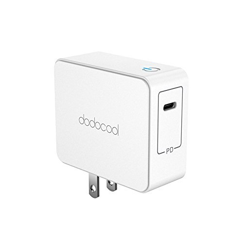 dodocool USB C Wall Charger 45W Power Delivery Fast Charger (ETL Listed) for Nintendo Switch, MacBook Pro/Air, Chromebook, MateBook X, Nexus, iPhone, Galaxy and More