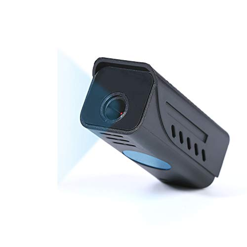 Mini Hidden Camera, HD 1080P Portable Security Camera with Night Vision and Motion Detection, Video Camera Built in Large Battery for Home and Office