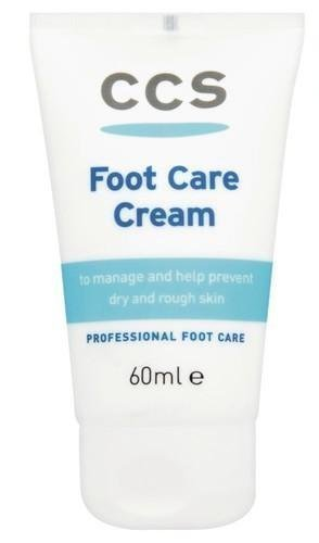 CCS Foot Care Cream 60ml - For Dry Rough Skin Feet-PACK OF 2