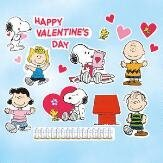 Peanuts Charlie Brown And Snoopy Valentine Window Clings ~ Happy Valentineu0027s  Day