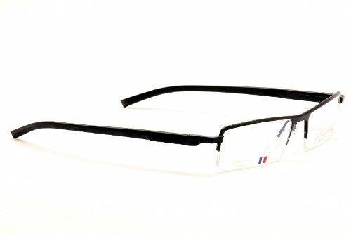 ff589e9e38 Amazon.com  Tag Heuer Eyeglasses 0822 001 Black TagHeuer Half Rim Optical  Frame  Clothing