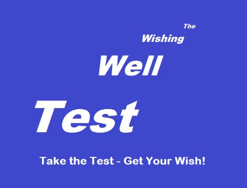 The Wishing Well Test Pdf