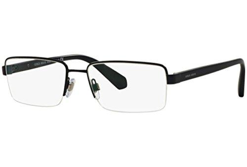 Giorgio Armani Montures de lunettes 5053 Pour Homme Matte Black, 53mm 3056: Matte Blue
