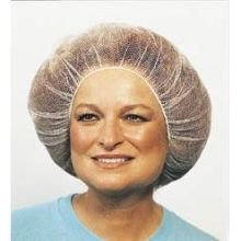 Cellucap White Polyester Honeycomb Hair Net, 20 inch - 100 per pack -- 10 packs per case. by Cellucap